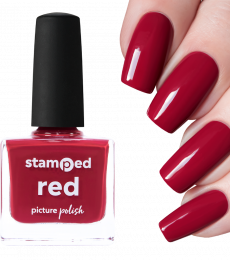 Picture Polish Stamping Polish - Red