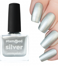 Picture Polish Stamping Polish - Silver