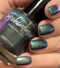 KBShimmer- The Love At Frost Sight Collection- Stay Salty Multichrome Nail Polish