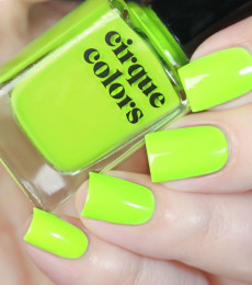 Cirque Colors - Vice 2021 Collection - Electric Daisy Neon Nailpolish