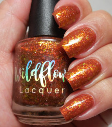 Wildflower Lacquer - Kois from The Swamp Collection - A Little Shellfish