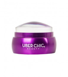 Uberchic Nailart -   XL Clear Short Stamper with Metal Handle