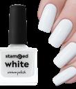 Picture Polish Stamping Polish - White